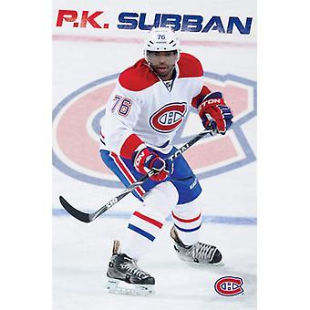 PK Subban - Montreal Canadia Plakat Poster drucken