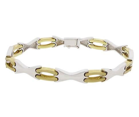 Bicolor Gold Bracelet
