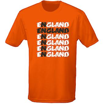 England Cross Funky fotboll Mens T-Shirt 10 färger (S-3XL) av swagwear