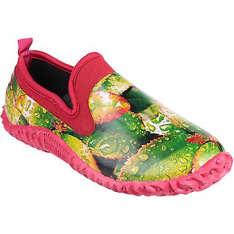 Cotswold dames achterdeur High Def Print waterdicht tuin schoen groen