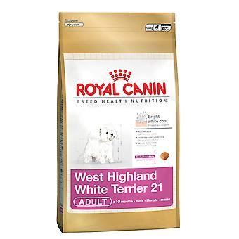 Royal Canin Westie West Highland Terrier Natural Adult Dry Dog Food 1.5kg