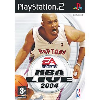 NBA Live 2004 (PS2) - Nieuwe fabriek verzegeld