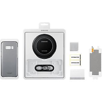 サムスン スターター キット EB WG95 Qi 充電ステーションとカバー, 三星ギャラクシー S8 用フィルム