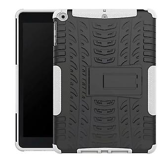 Υβριδική εξωτερική προστατευτική θήκη θήκη λευκό για νέα Apple iPad 9,7 2017 υπόθεση