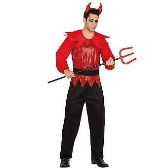 Männer Kostüme Teufel Halloween-Kostüm