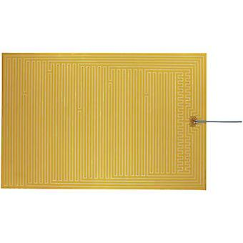 Thermo Polyester Heating foil self-adhesive 24 V DC, 24 V AC 50 W IP rating IPX4 (L x W) 600 mm x 400 mm