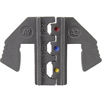 TOOLCRAFT PLE-0A2 Conectores aislados de brocas de crimpado Zona de crimpado: 0.5 hasta 6 mm2 Adecuado para la marca: TOOLCRAFT PZ-500