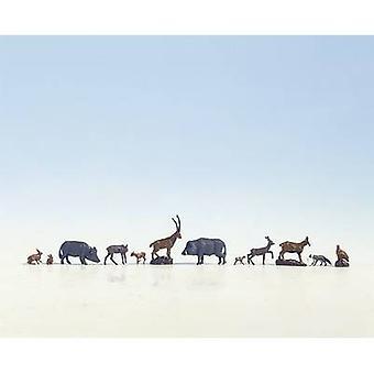 NOCH 15745 H0 metsän eläinten lukuja