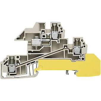 Distributor serial terminals WDL 2.5 S for 10 x 3 mm busbar WDL 2.5/S/NT/L/PE 1030600000-1 Grey, Blue, Green, Yellow Weidmüller 1 pc(s)