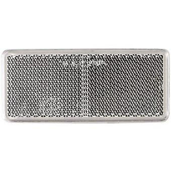 SecoRüt Reflector Rectangular White (L x W) 90 mm x 44 mm