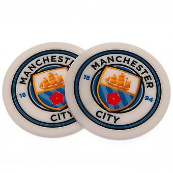 Manchester City 2pk Coaster Set