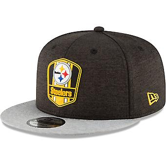 New Era Snapback Cap - Sideline Away Pittsburgh Steelers