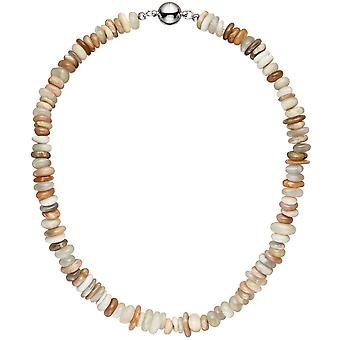 Necklace chain Sonnenstein 45 cm Sunstone necklace chain gemstone necklace