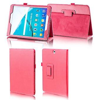 For Samsung Galaxy tab A-10.5 T590 T595 rødt imiteret læder tilfælde dække pose tilfældet nye