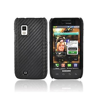 Verizon snap-on Case för Samsung Galaxy S Fascinate i500-Graphite Black (bulk förpackning)