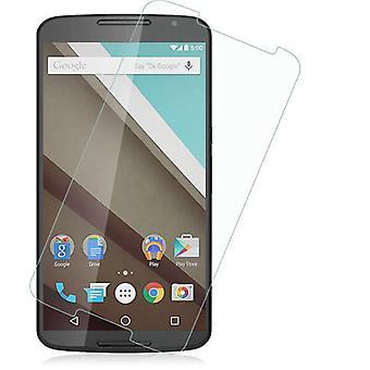 Protecteur d'écran Google Nexus 6 transparente de verre trempé.
