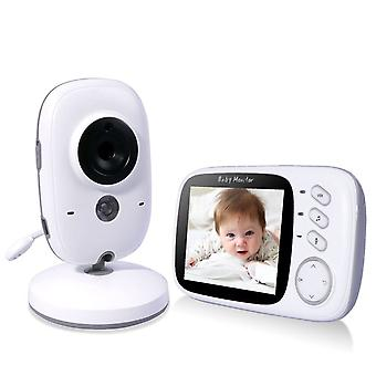 Mega Motion Babyphone Wireless Camera - Baby Monitor ECO 24H LCD Screen Listening Baby Night Vision