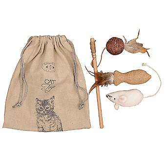 Banbury And Co. Luxury Cat Toys Gift Bag
