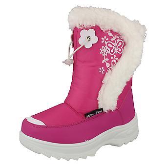 SnowFun SnowBoots Fleece fodrad vinterstövel