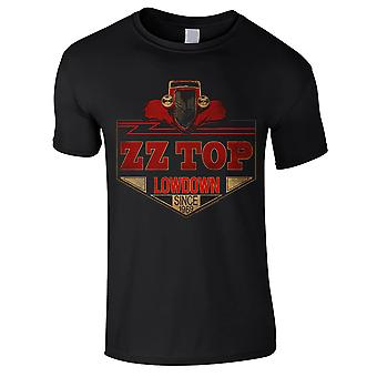 Zz Top - Camiseta para niños Lowdown