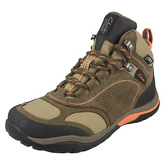 Ladies Clarks Lightweight Walking Boots Intour Route GTX