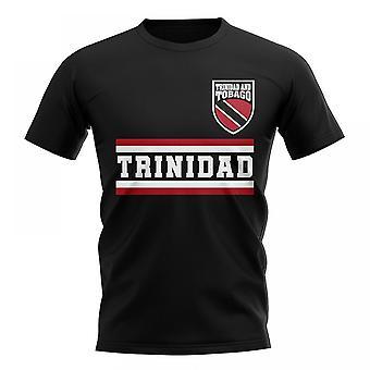 Trinidad et Tobago Core Football pays T-Shirt (Black)