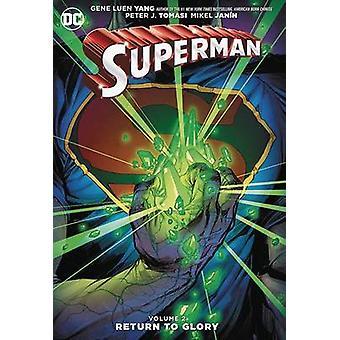 O Super-homem - Vol. 2 - retorno à glória por Gene Luen Yang - 9781401265113 B