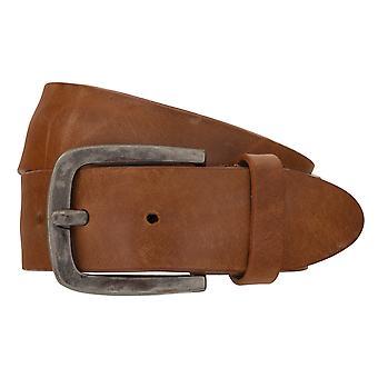 Cinturones de cinturón cinturones de hombres LLOYD de cuero Cognac correa 7775