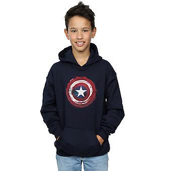 Marvel pojat Kapteeni Amerikka roiskia Shield huppari