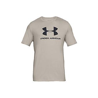 Under panser Sportstyle Logo Tee 1329590-408 Herre T-shirt
