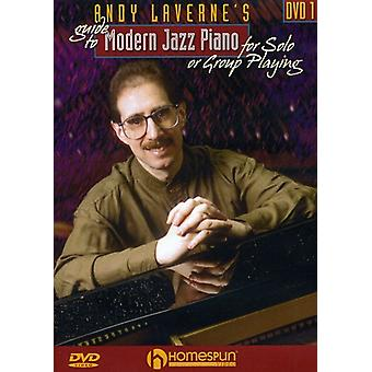 Andy Laverne - Andy Laverne's Guide to Jazz Piano, Vol. 1 [DVD] USA import