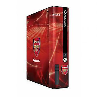 GEHEN Sie Arsenal Xbox 360 E Konsole Haut