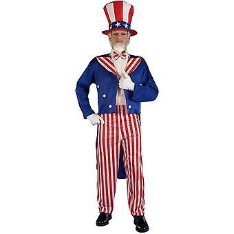 Uncle Sam Adult Costume - 19931
