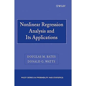 Nonlinear Regression Analysis   Applns P by Bates