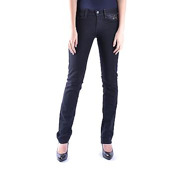 7 For All Mankind Ezbc110014 Women's Black Cotton Jeans