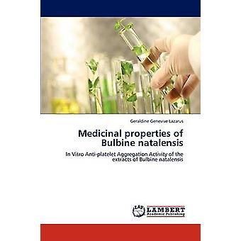 Propriedades medicinais de Bulbine natalensis por Lazarus Geraldine Genevive
