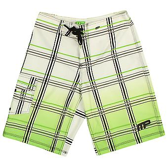MusclePharm Mens MP Board Shorts - White