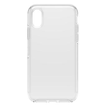 OtterBox simetría clara Apple iPhone X / XS claro