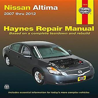 Nissan Altima Automotive Repair Manual - 2007-12 by Max Haynes - Tim I