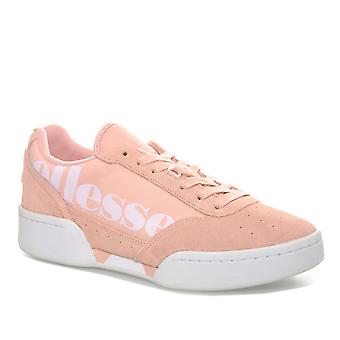 Womens ELLESSE Piacentino Suede Trainers en Dusty Pink