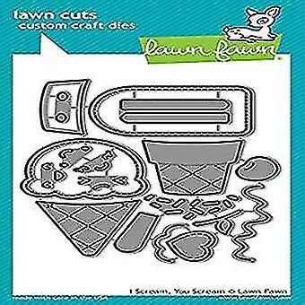 Lawn Fawn I Scream, You Scream Dies (LF1713)