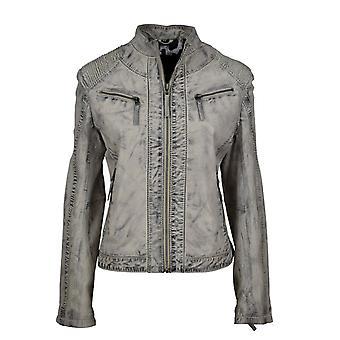 Women's leather jacket Zorina