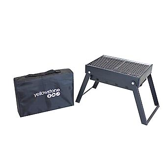 Yellowstone Midi Folding Steel BBQ cu carry bag Yellowstone Midi folding din oțel bbq cu carry bag