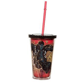 Cold Cup plastic Strew-Marvel Comics-agent Venom nieuwe CC-USM-avcrsh