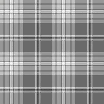 Yellow Grey Charcoal Taupe Check Wallpaper Country Tartan Plaid Muriva Kelso