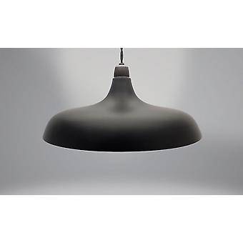 Country Club Metal Light Shade, Coolie Dome Black