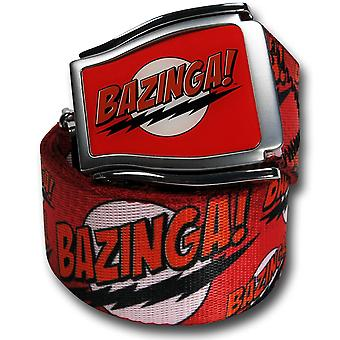 Big Bang Theory Bazinga Adjustable Belt