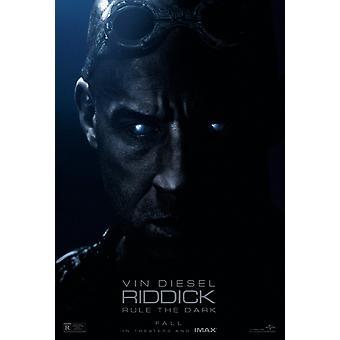 Affiche Riddick Double Sided Regular (2013) Original Cinema Poster (Uv Coated/High Gloss)