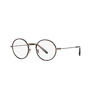 Oliver Peoples Ellerby OV1250T 5289 Black Horn-New Antique Pewter Glasses