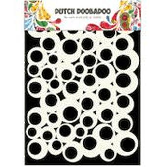 Dutch Doobadoo A5 Mask Art Stencil - Bubbles 2 #715100